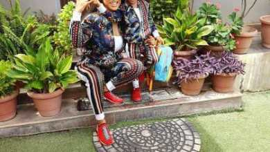 Photo of Tonto Dikeh rocks matching tracksuits with her son as she celebrates him on Children's Day (Photos)