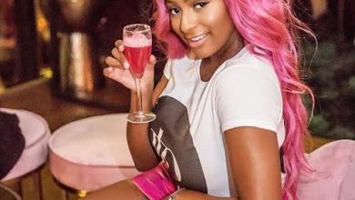 Photo of Dj Cuppy Drinks Sachet Water For The First Time | Watch Her Reaction