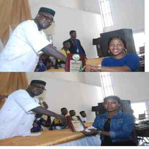 Fedpoffa: Mass Communication Department Awards Best Students, Encourages Others On Academic Performance