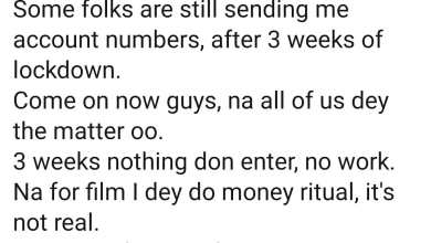 """Photo of """"Nah for film I dey do money ritual, stop sending me account numbers"""" – Yul Edochie begs fans"""