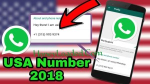 How to create Free USA number for Whatsapp