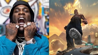 Photo of Burna Boy Upgraded His Garage With A Brand New Rolls Royce Dawn Worth N140m (Video)