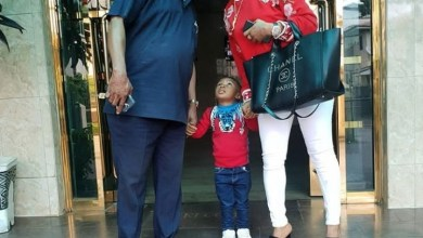 """Photo of """"This is weird"""" – Fan tells Tonto Dikeh, after she shared a photo of herself and her Father."""