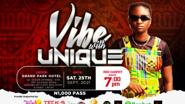 Ever-dynamic music star Unique Microphone Rocker Ready To Headline Vibe with Unique this September