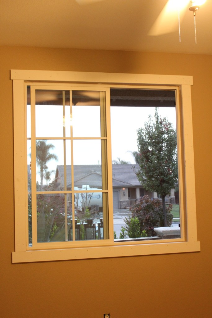 Easy Craftsman Window Trim