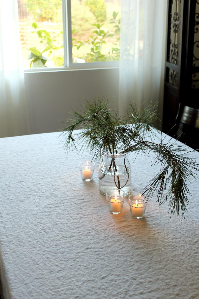 evergreen arrangement
