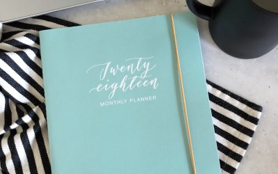 2018 Monthly Planner Roundup