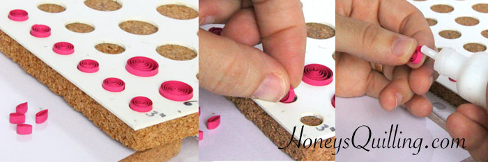 free tutorial for a small paper quilled butterfly