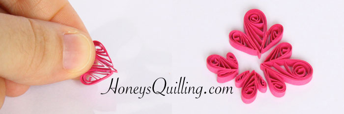 free tutorial for paper quilled butterfly earrings