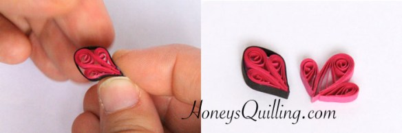 free tutorial for paper quilling jewelry butterfly earrings