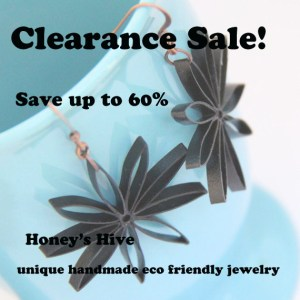 clearance handmade unique eco friendly jewelry