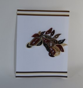 paper quilling horse design ideas for Chinese year of the horse