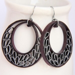 making paper quilled jewelry sturdy
