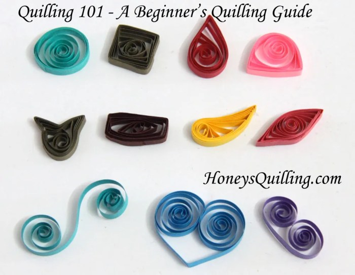 Quilling 101 - A Beginning Quilling Guide - Free Tutorial from Honey's Quilling