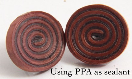 How to Use PPA as a Sealant for Paper Quilled Jewelry