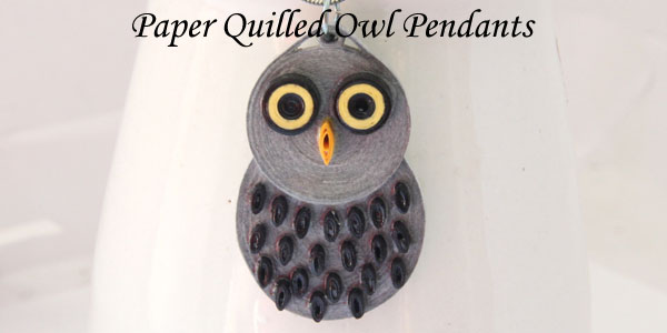 Hoo Hoo – More Paper Quilled Owl Jewelry