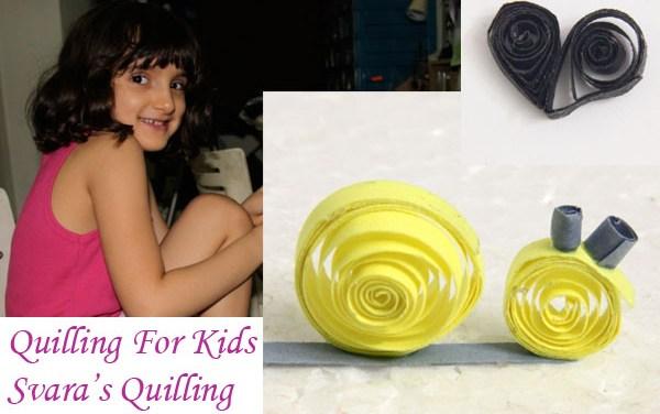 Quilling for Kids – Svara's Quilling Work