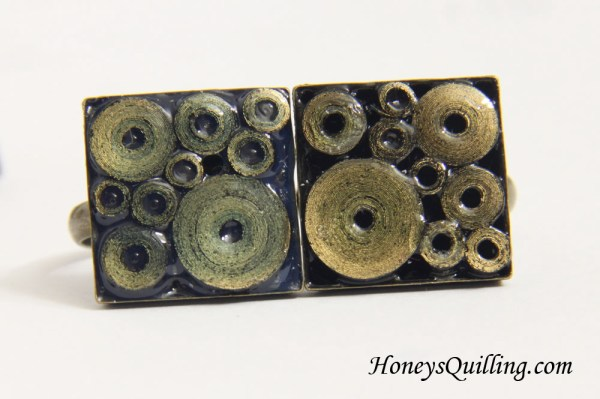 Sealants with Paper Quilled Jewelry - Diamond Glaze, 3D Crystal Lacquer, Crystal Coat Glaze, and Glossy Perfect Paper Adhesive - Honey's Quilling