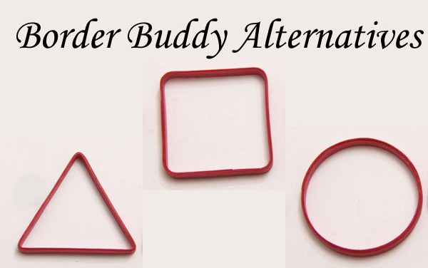 Alternatives for the Border Buddy – Making Open Quilled Shapes