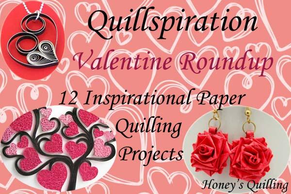 quillspiration paper quilling valentines day designs