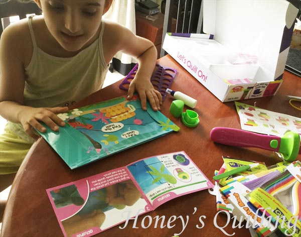 review of paper quilling kit from Let's Quill On - from Honey's Quilling