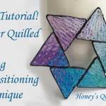 Tutorial for Paper Quilled Star Using Transitioning Technique