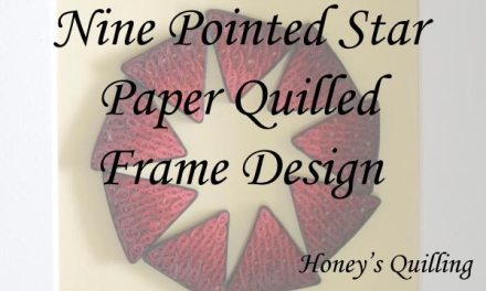 Nine Pointed Star Frame Design