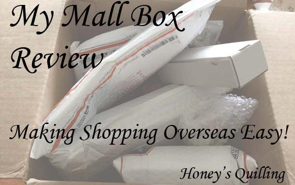 My Mall Box for Overseas Ordering of Craft Supplies
