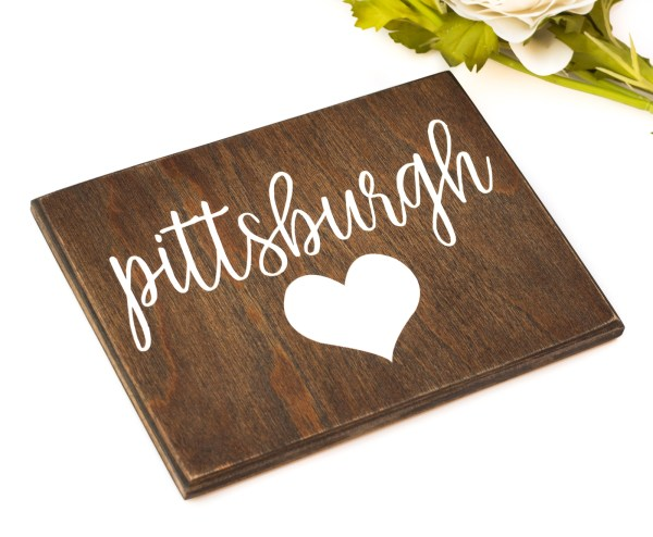 pittsburgh love sign