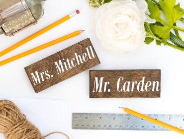 personalized teacher gift magnet