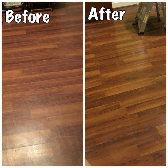 Make Your Laminate Floors SHINE
