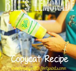 Bill's Lemonade Copycat Recipe