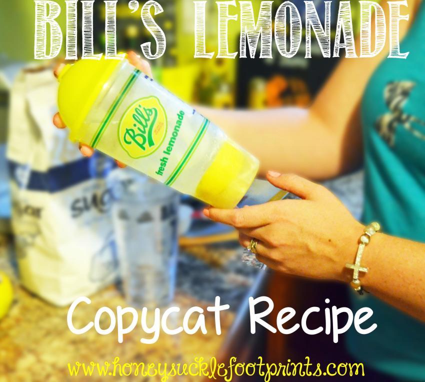 Bill's Lemonade Copycat Recipe
