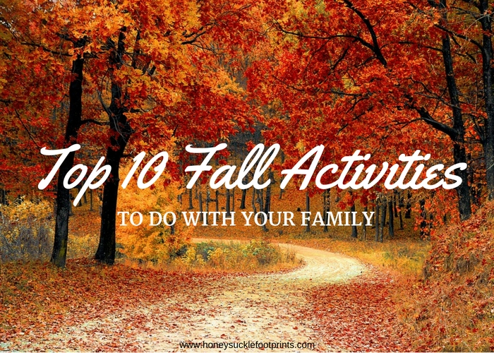 Top 10 Fall activities to do wtih your family!