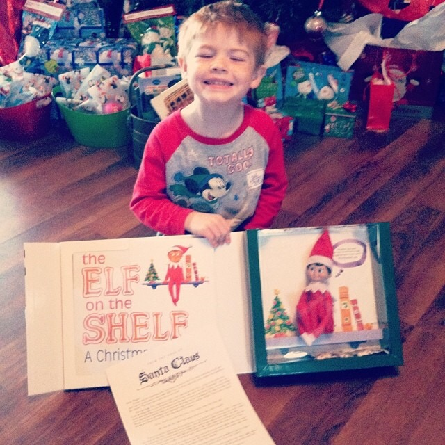 Elf on the Shelf Arrival Idea & Letter