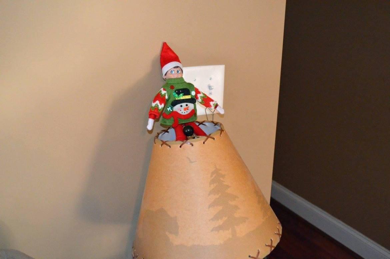 Unique Elf Ideas, creative, Elf on the Shelf, Elf Sweater