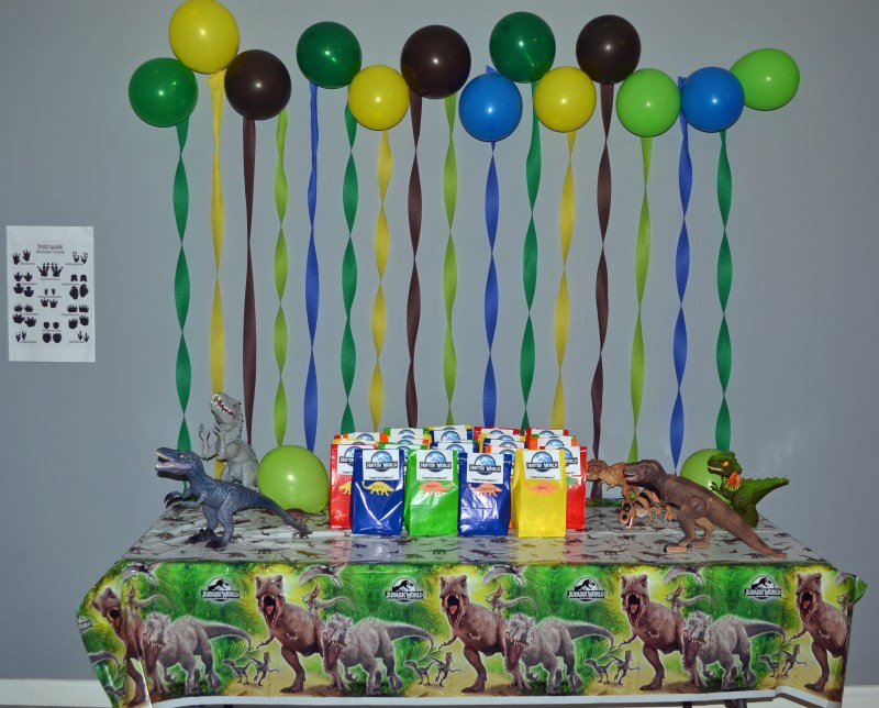 Jurassic, Dino, Party, Birthday, Ideas, Party Favor Table,