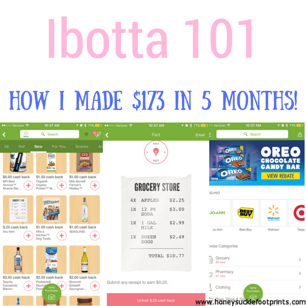 Ibotta - Learn how I maximized the use of Ibotta to make $173 just by shopping in 5 months! Tips, tricks, and also a $10 coupon off your first rebate!!