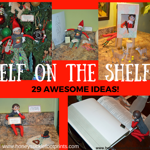 Elf on the Shelf Ideas, EOTS, Unique, Creative, Awesome, Ideas