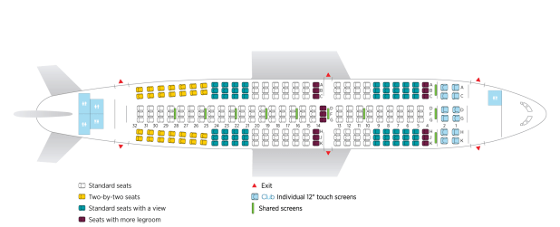 Air Transat Seat Map 737 800 Brokeasshome Com