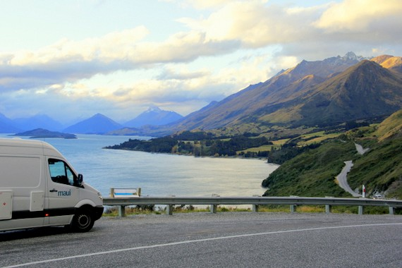 Road from Queenstown to Glenorchy