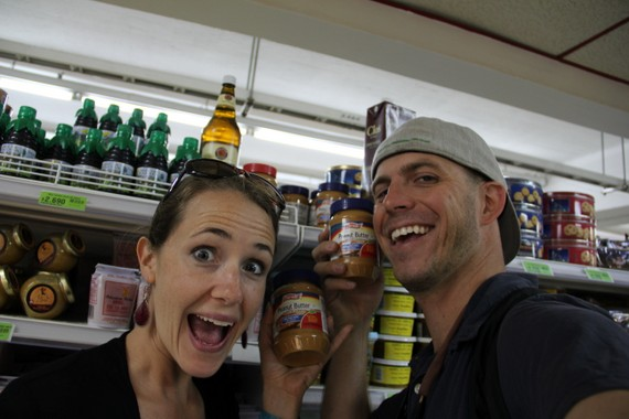 Does peanut butter exist in South America? NO!