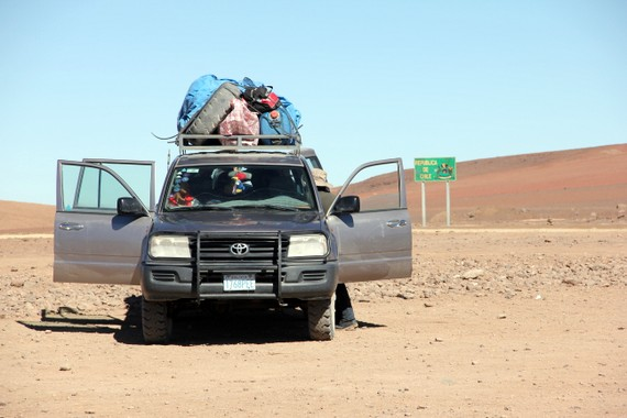 Toyota Land Cruiser from Chile to Bolivia