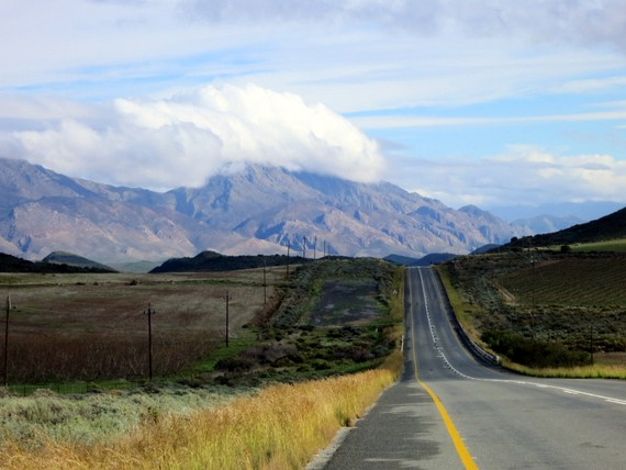 Road trip up Route 62, South Africa