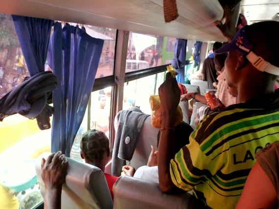Riding Mozambique buses