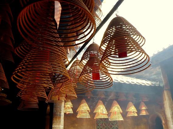 spiral incense lanterns