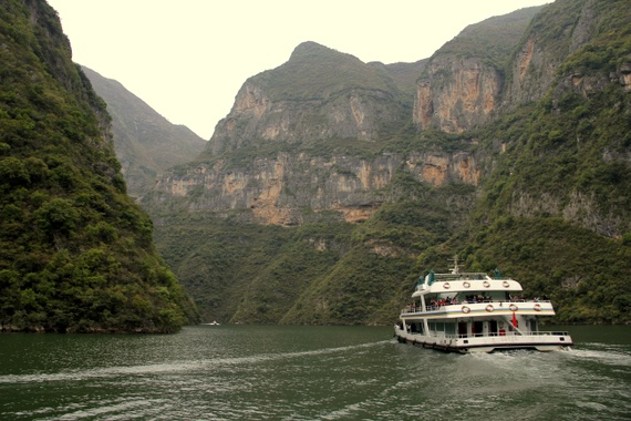 Yangtze is the third longest river in the world