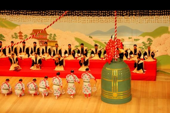 seeing a kabuki performance