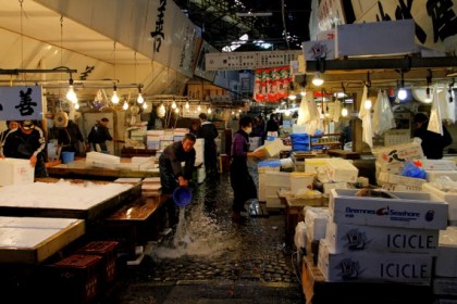 largest fish market in japan