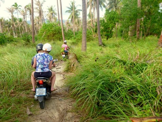 Off road scooters Ko Samui